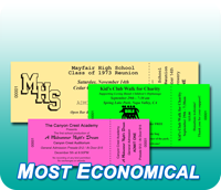 Economy General Admission Tickets