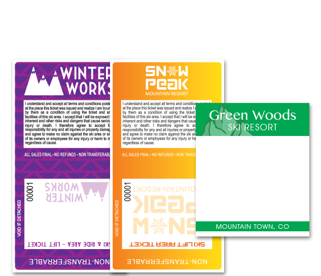 Ski Lift Tickets