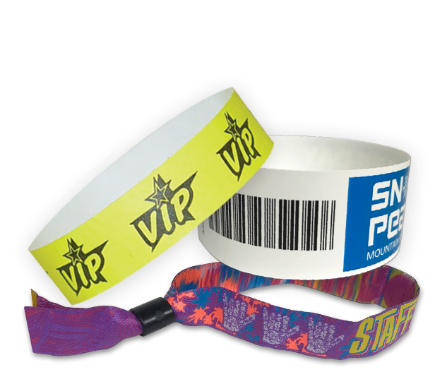 Event Ticket Printing Wristbands Badges And More From