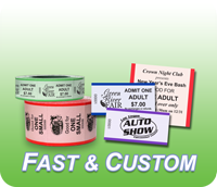Custom Security Roll Tickets