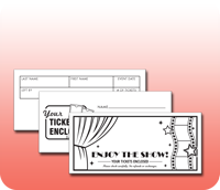Pre-Printed Stock Ticket Envelopes