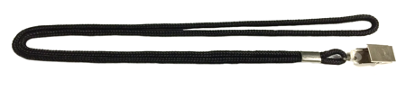 "Round Cord Lanyard 1/8"" Diameter with Clip 50 pack"