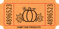 Image result for pumpkin tickets