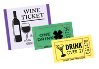 Drink Roll Tickets