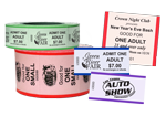 Security Roll Tickets