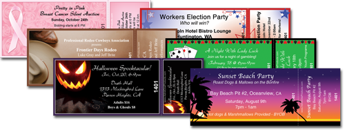Admit One Products  Party Ticket Template