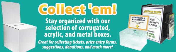 Ballot Boxes And Raffle Drums