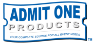 Wristbands, Event Ticket Printing, and more from Admit One Products